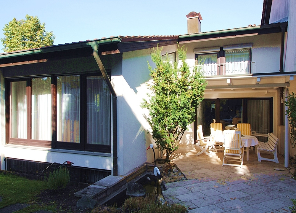Haus-Terrasse