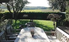 Blick von Terrasse in die Ferne