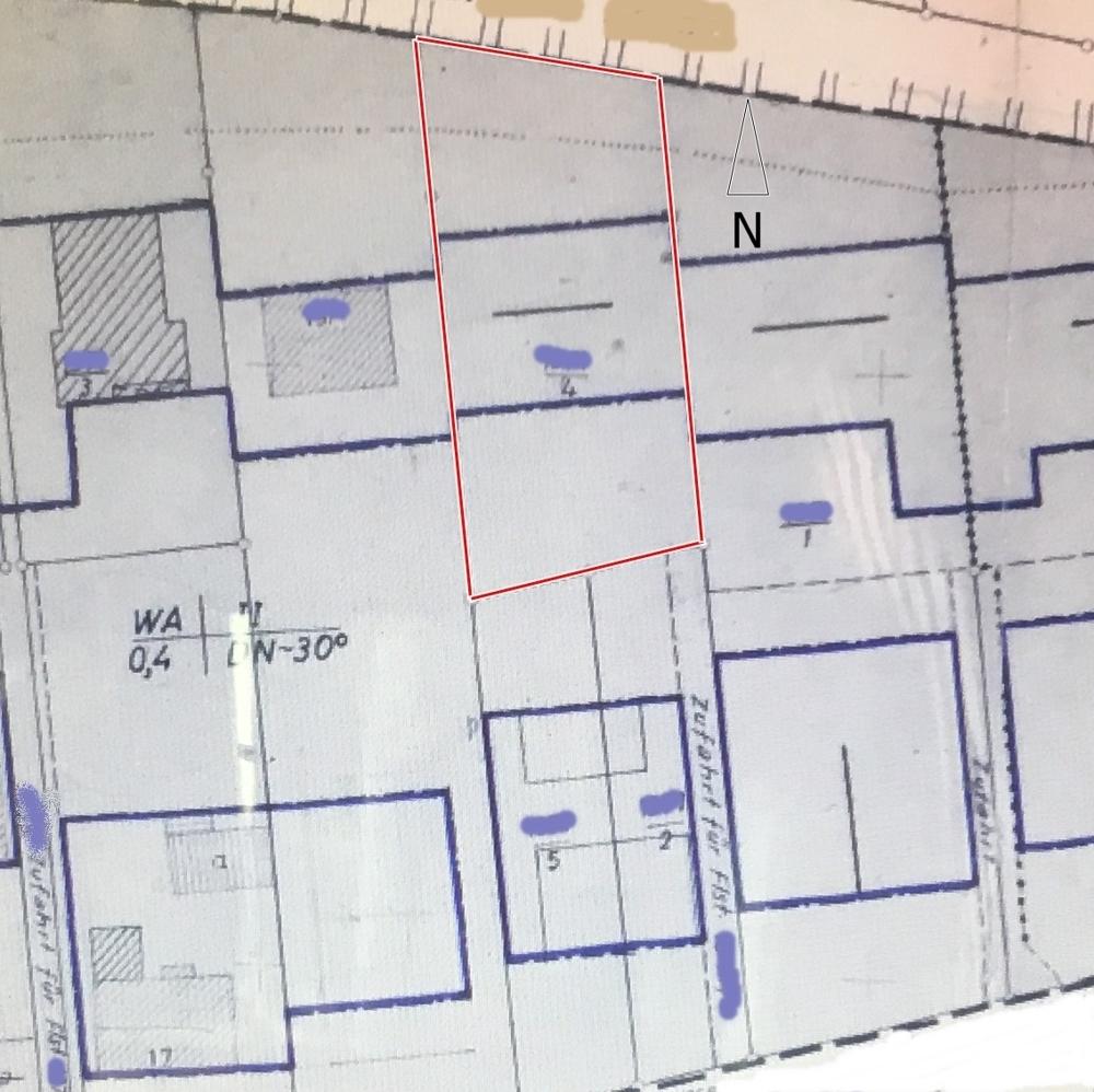 B-Plan-Grundstück