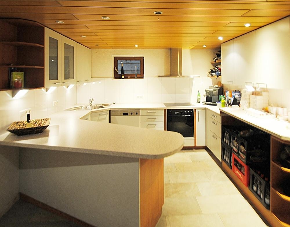 Küche Gartengeschoss