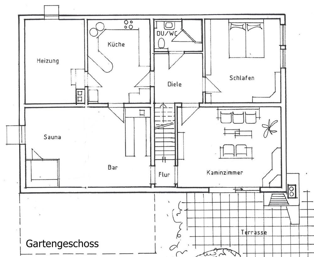 Plan Gartengeschoss