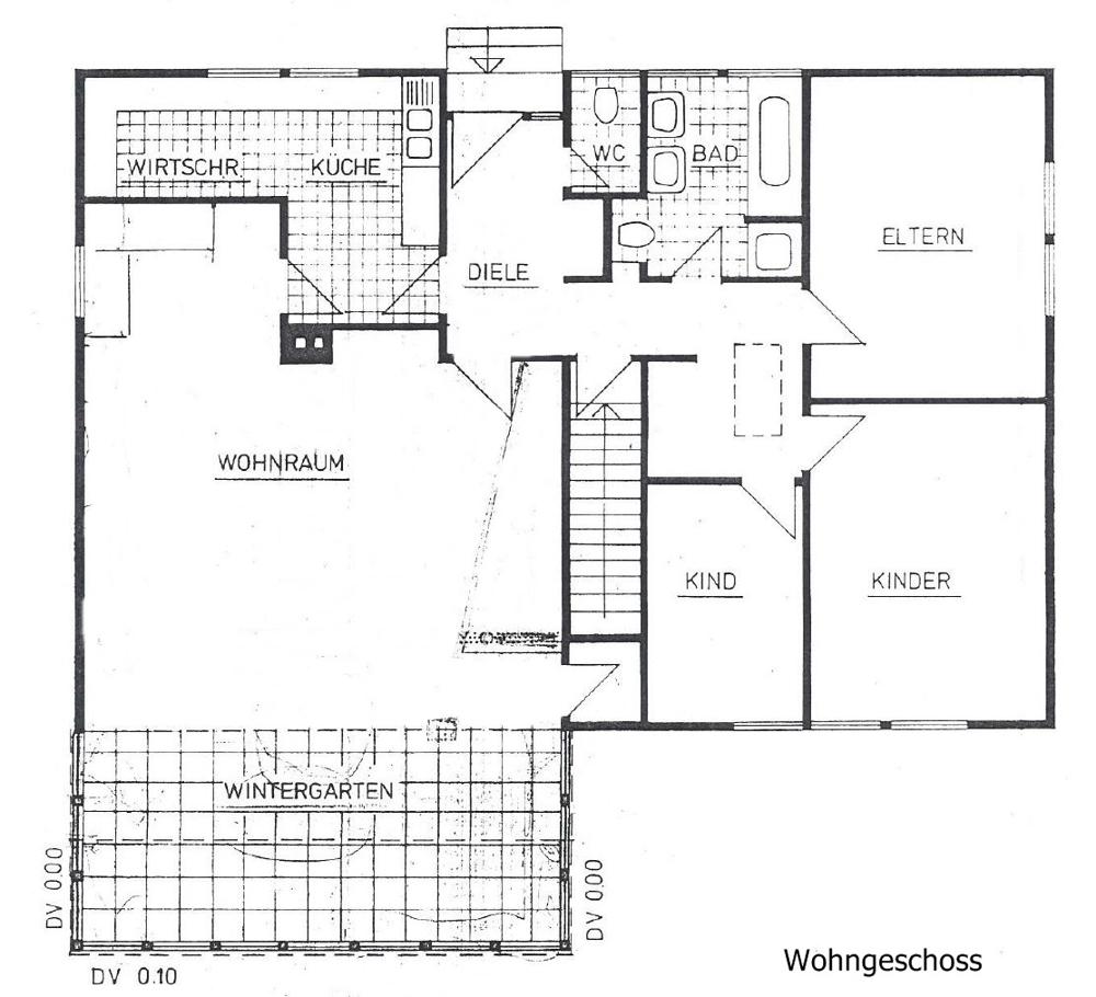 Plan Wohngeschoss