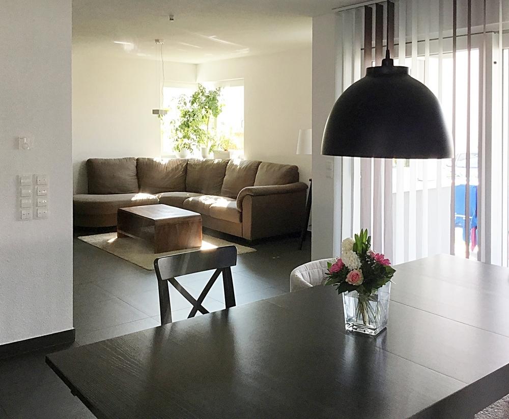 Wohnzimmer-Südterrasse
