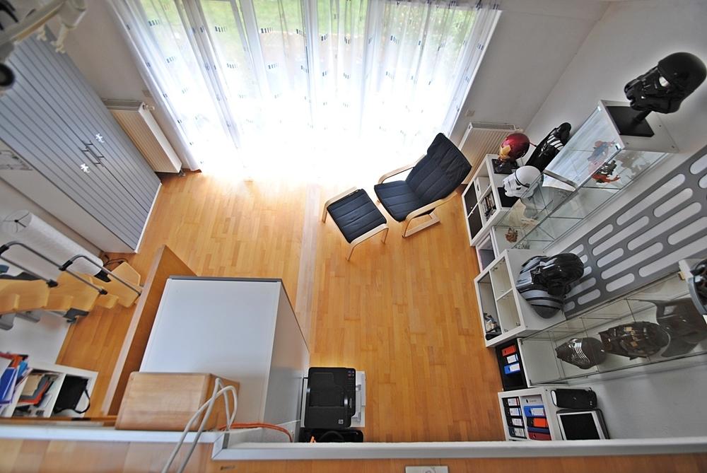Zimmer 1 Blick von Galerie