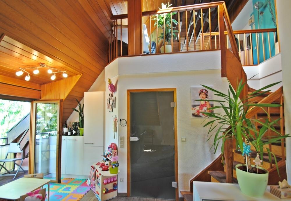 Wohnbereich Treppe