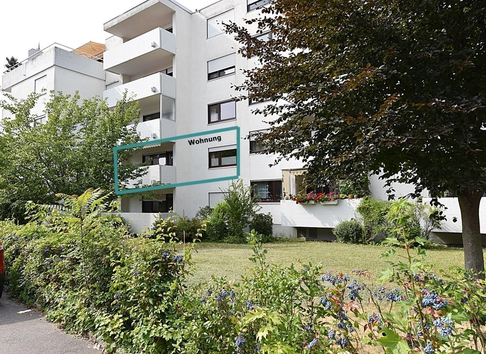 Wohnung AUSSEN Balkon Wohnzimmer