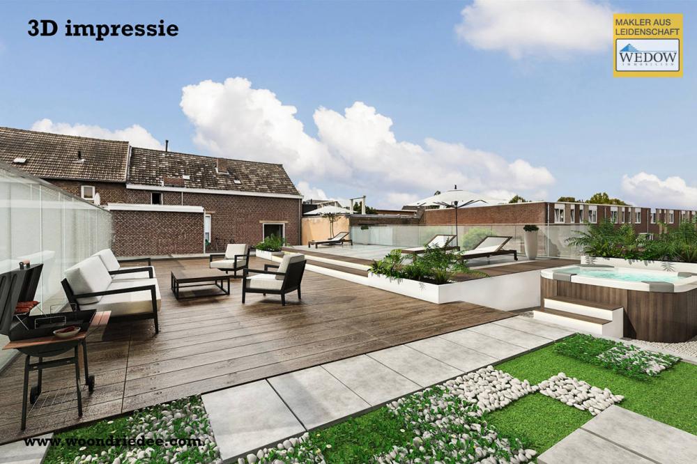 Dachterrasse Gestaltungsbeispiel