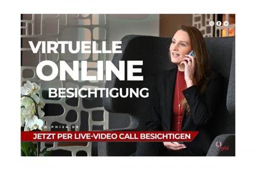 Video Call Banner Exposé Online Vorlage weiß Melanie Sternberg