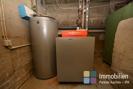 Gasheizungsanlage mit Warmwasserspeicher