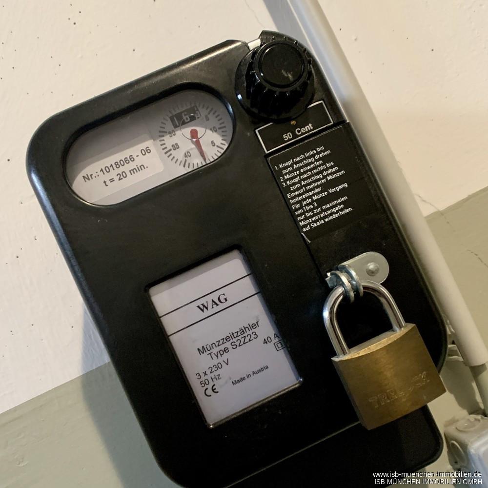 Hauswaschmaschine mit Münzautomat