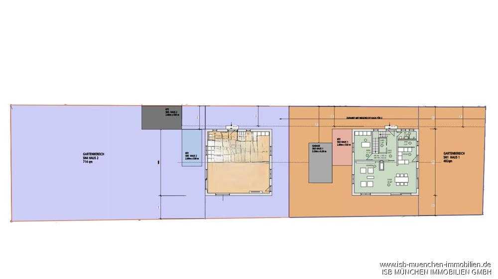 Aufteilungsplan Stockdorf