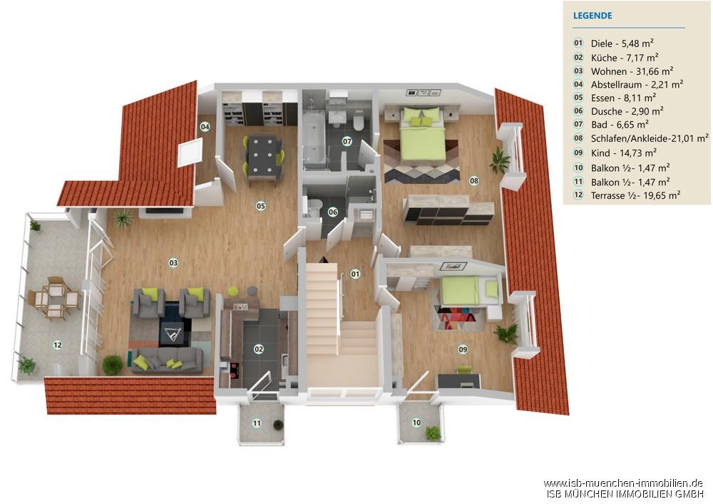 II. Obergeschoss