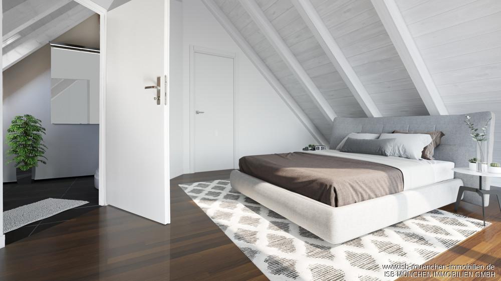 Gästezimmer - virtuelles Homestaging