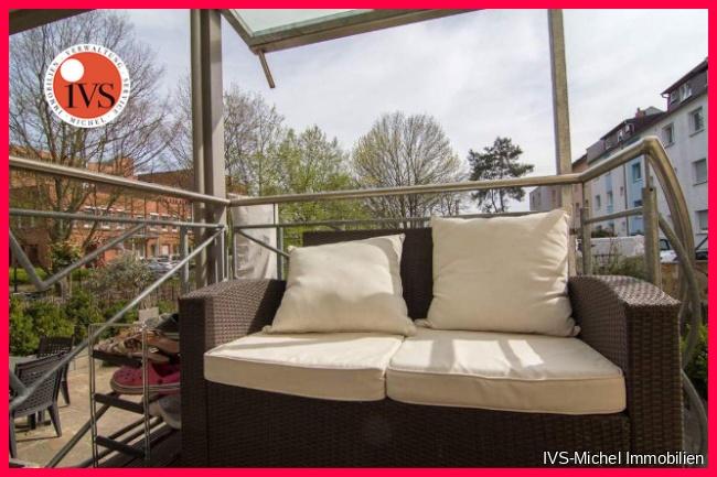 EG Balkon mit Gartenzugang