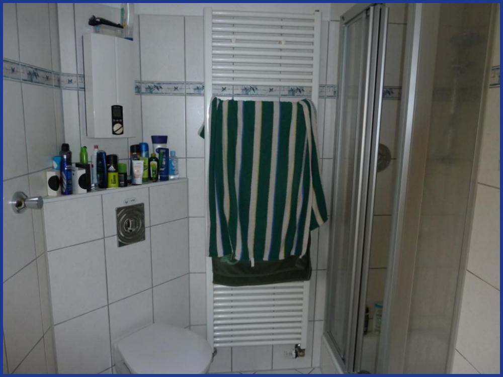 Bad Dusche und Heizung