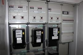 Neuwertige Stromverteilung