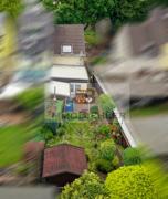 Gartenrefugium von oben