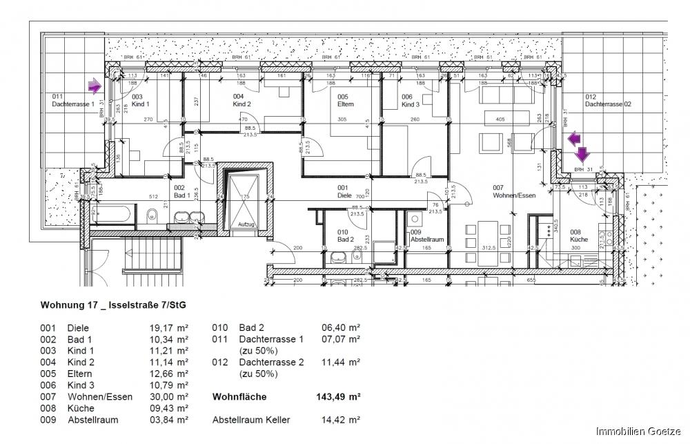 Penthouse klein