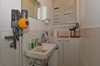 Kleine Küche mit Elektrotableau