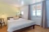 Schlafzimmer mit Rheinblick