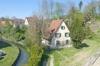 Luftbild mit Kanal