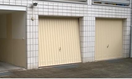 Garage hinten