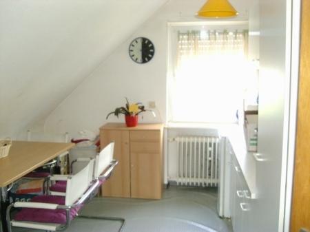 Wohnküche - mögliche Möblierung