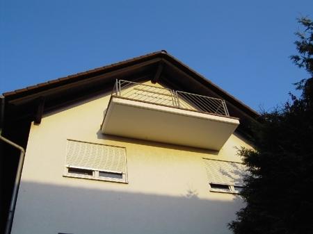 Balkon Hanglage