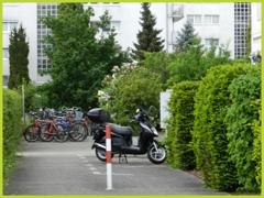 Abstellmöglichkeit Fahrräder
