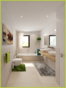Badezimmer Virtuelles Homestaging
