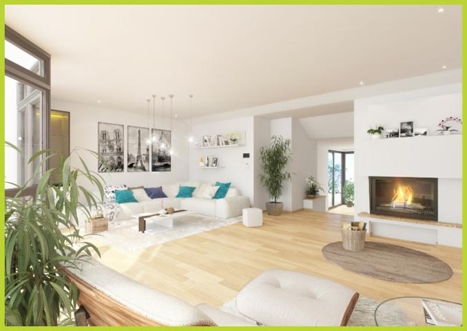 Wohnzimmer Virtuelles Homestaging