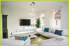 Wohnzimmer virtuell eingerichtet