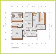 Grundriss Kellergeschoss H 16046