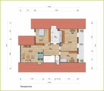 Grundriss Obergeschoss H 16046