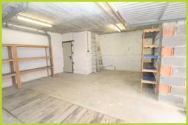 Garage mit Aufgang Anbau