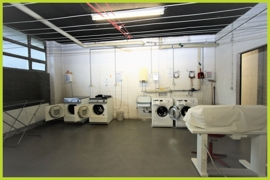 Wasch-Trockenraum