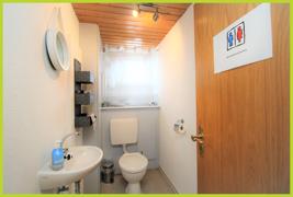 Kundentoilette Friseur