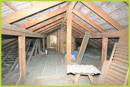 Ausbaureserve im Dach
