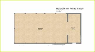 Grundriss H 19079 Holzhalle