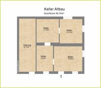 Grundriss H 19079 Keller Altbau
