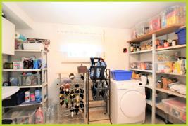 eigener Waschmaschinenraum im Keller