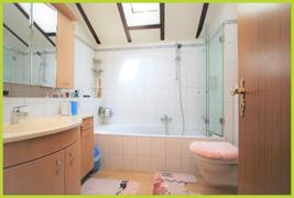 Tageslicht Badezimmer OG