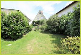 Ansicht Haus vom Garten