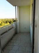 Balkon in Westausrichtung