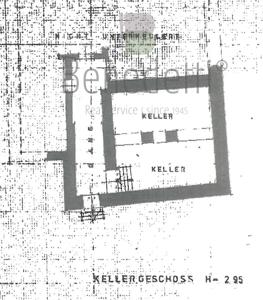 GROßZÜGIGE  VILLA IN SCHÖNER PANORAMALAGE PARTSCHINS Kellergeschoss