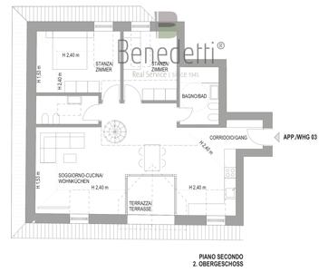 Plan 2. Obergeschoss