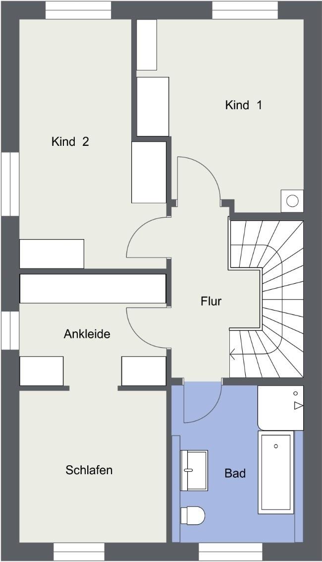 OG - 2D Floor Plan