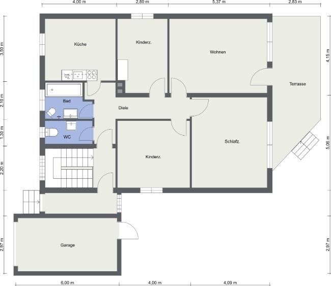 efh - EG - 2D Floor Plan
