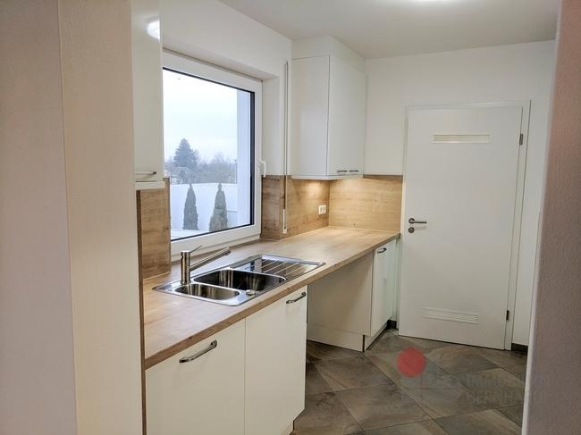 Küche Spüle (Platz für Waschmaschine-Trockner)