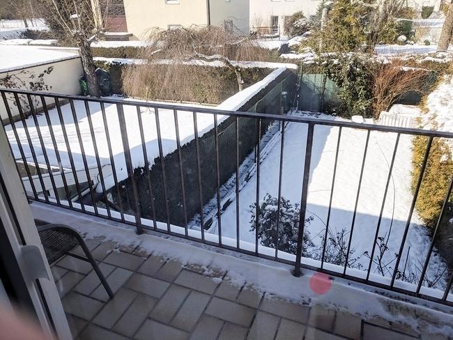 Zimmer-Grau Balkon